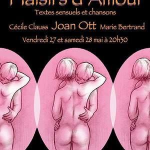 PLAISIRS D'AMOUR – Textes et chansons sensuels