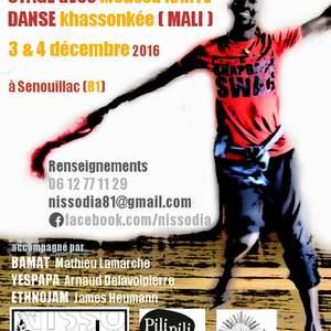 Stage de danse malienne Khassonkée avec Moussa Kanté