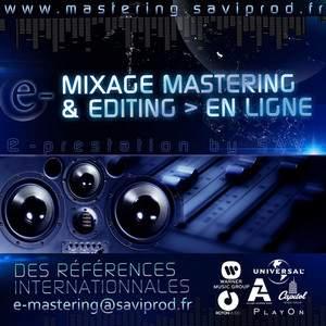 E-Mastering > Mixage & Mastering en ligne par un studio de référence !