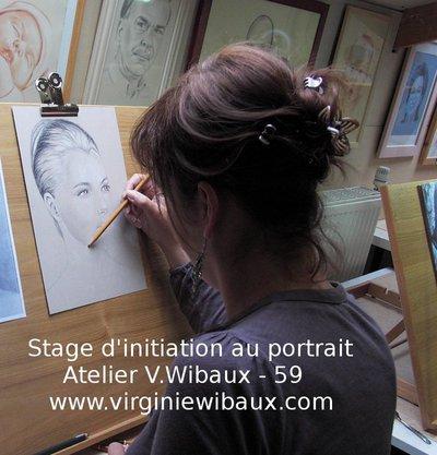 Stage d'initiation au portrait d'après photo