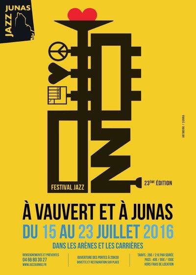 Festival Jazz à Junas // 23° édition du 15 < 23 juillet