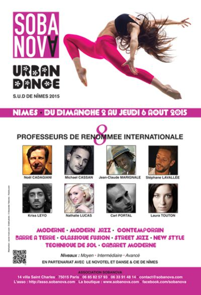 SOBANOVA URBAN DANCE NIMES 2015