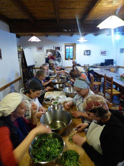 Cuisine sauvage de la garrigue au Viel Audon