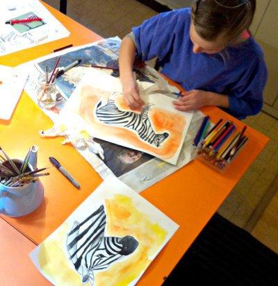 Stages Peinture Dessin de 6 à 16 ans Parent/Enfant