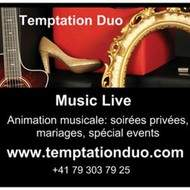 Animation musicale: Live music, Temptation Duo