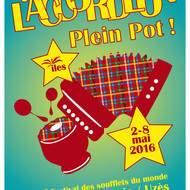 """Festival des soufflets du monde """"L'Accordéon Plein Pot!"""""""