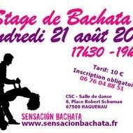 STAGE DE BACHATA DEBUTANTS A HAGUENAU - VENDREDI 21 AOUT 2015
