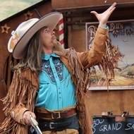 Buffalo Bill est complètement à l'Ouest