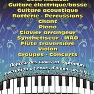 Rentrée à l'Ecole de Musique et de Chant  « Centre Artistique Et Music