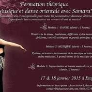 Formation théorique Musique, Danse et Improvisation avec Samara