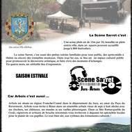Scène Sarret à Arbois