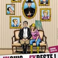 J'y suis... j'y reste ! la nouvelle comédie produite par la Cie LA BAN D'RÔLE sur la scène du centre culturel Marc Sangnier