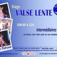 Stage de Valse Lente avec Patricia
