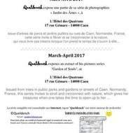 Queldench s'expose à l'Hôtel des Quatrans
