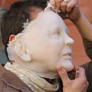 Études et réalisation de visages réalistes en silicone