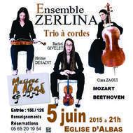 Concert classique Trio à Cordes ZERLINA