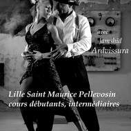 Cour de tango argentin avec jamshid ardvissura à lille