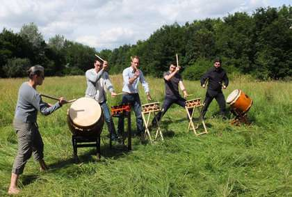 Stages de tambours Japonais (Taiko) à Paris