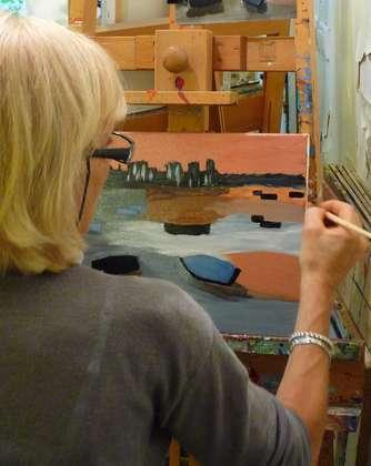 Stage peinture acrylique et ses médiums (initiation-perfectionnement)